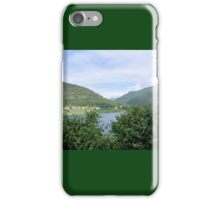 View Across the Fjord iPhone Case/Skin