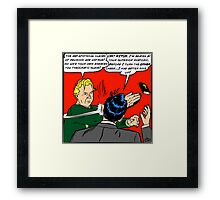 HITCH-SLAP! (Part 2: The Reckoning) Framed Print