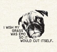 I wish my grass was emo... by Erin Guest