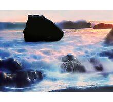 Twilight Surf Photographic Print