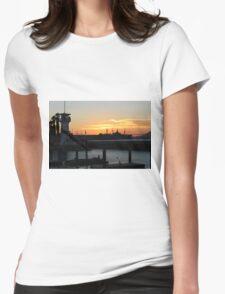 San Fran Sunset Womens Fitted T-Shirt