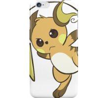 raichu kawaii design iPhone Case/Skin