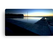 Tidal pool @ Mona Vale Beach Canvas Print