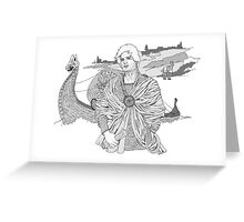 Lost Knight Greeting Card