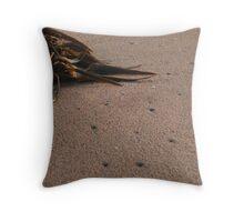 Seaweed Corner Throw Pillow