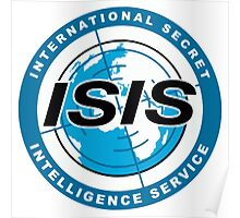 International Secret Intelligence Service Poster