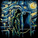 Starling Night (Arrow & Van Gogh) by girardin27