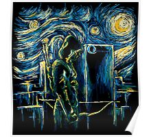 Starling Night (Arrow & Van Gogh) Poster