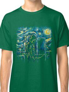 Starling Night (Arrow & Van Gogh) Classic T-Shirt