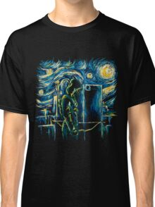 Starling Night (Arrow & Van Gogh) Classic T-Shirt