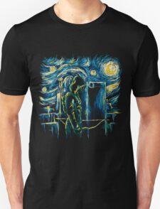 Starling Night (Arrow & Van Gogh) Unisex T-Shirt