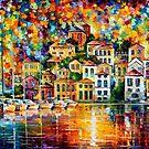 Dream Harbor — Buy Now Link - www.etsy.com/listing/129012629 by Leonid  Afremov