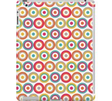 Abstract Bulls Eye Circles Pattern iPad Case/Skin