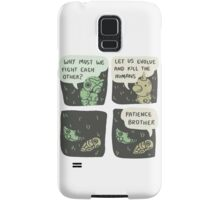 caterpie and weedle lol conversation Samsung Galaxy Case/Skin