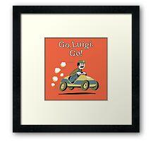 Go, Luigi. Go! Framed Print