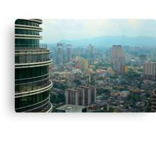 Cityscape V - Kuala Lumpur, Malaysia. Canvas Print