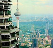 Cityscape VI - Kuala Lumpur, Malaysia. by Tiffany Lenoir