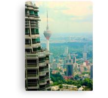 Cityscape VI - Kuala Lumpur, Malaysia. Canvas Print