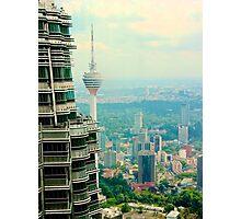 Cityscape VI - Kuala Lumpur, Malaysia. Photographic Print
