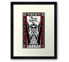 Leon Russell, Rock & Roll Hall of Fame, Commemorative Art by L. R. Emerson II Framed Print