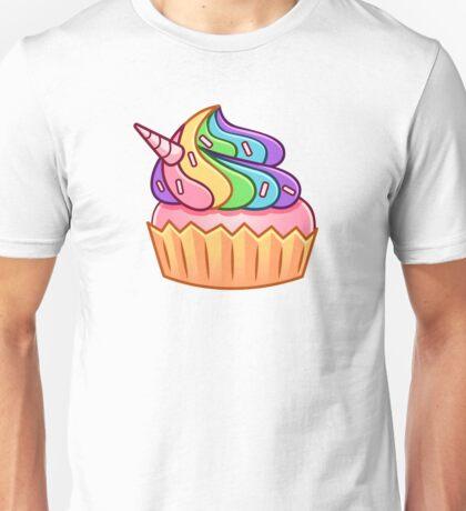 Unicorn Cupcake Unisex T-Shirt