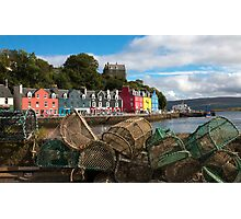 The Lobster Pots Photographic Print