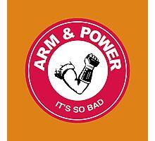 ARM & POWER Photographic Print