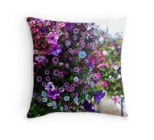 French Prairie Gardens in full color Throw Pillow