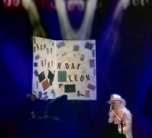 Leon Russell Giant Birthday Card Rock & Roll Poster Art and Photograph by L. R. Emerson II, 1993 by L R Emerson II