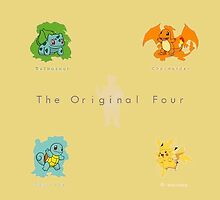 the original four by poketrainer777