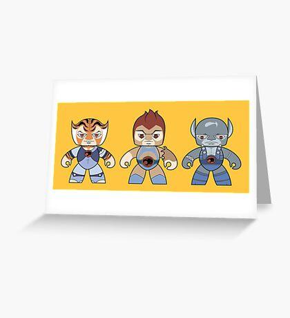 Thunder Cats Greeting Card