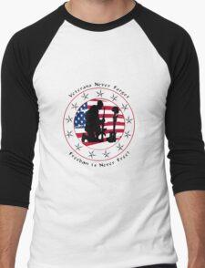 Never Forget 1.0 Men's Baseball ¾ T-Shirt