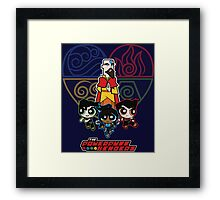 The Powerpuff Benders 2 Framed Print