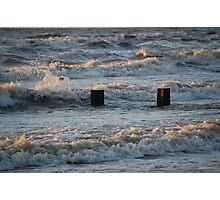 Moderate Sea Photographic Print