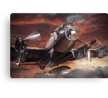 Lancaster Bomber Canvas Print