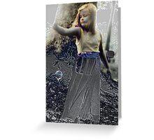 Reach - Victorian Era Photography Greeting Card