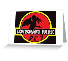 Lovecraft Park Greeting Card