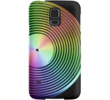 Vinyl LP Record - Metallic - Rainbow Samsung Galaxy Case/Skin
