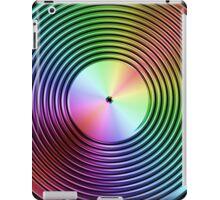 Vinyl LP Record - Metallic - Rainbow iPad Case/Skin