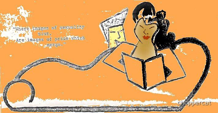 Lambda Literary Lounge by choppercat