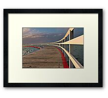 The Other End !! Framed Print