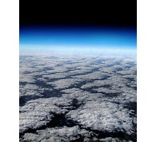 High above the clouds horizon  Photographic Print