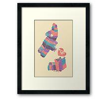 Piñatas Have Feelings Too Framed Print