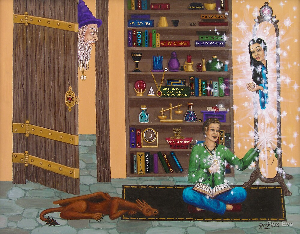 Wizard Want-to-be. by Roz  Eve