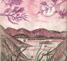 Moonlit Valley by karen66