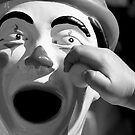 Clown Frown by Lass With a Camera