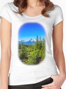 Rocky mountain  Meadows Women's Fitted Scoop T-Shirt