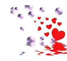 Love Bubbles Over Photographic Print
