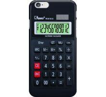 iphone calculator iPhone Case/Skin