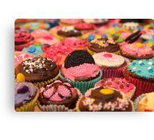 Cupcake Rainbow Canvas Print
